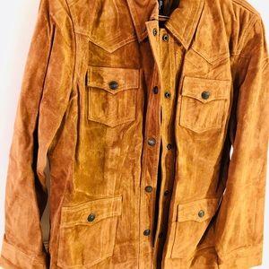 GAP Chocolate Leather Jacket